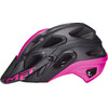 MET Lupo casco per bici rosa/nero